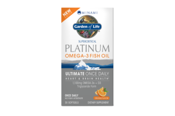 Garden Of Life Platinum Omega Fish Oil