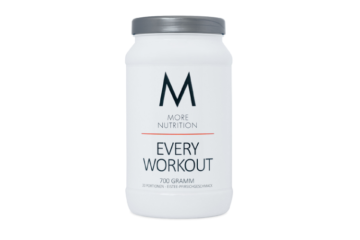 MORE NUTRITION EVERY WORKOUT TEST