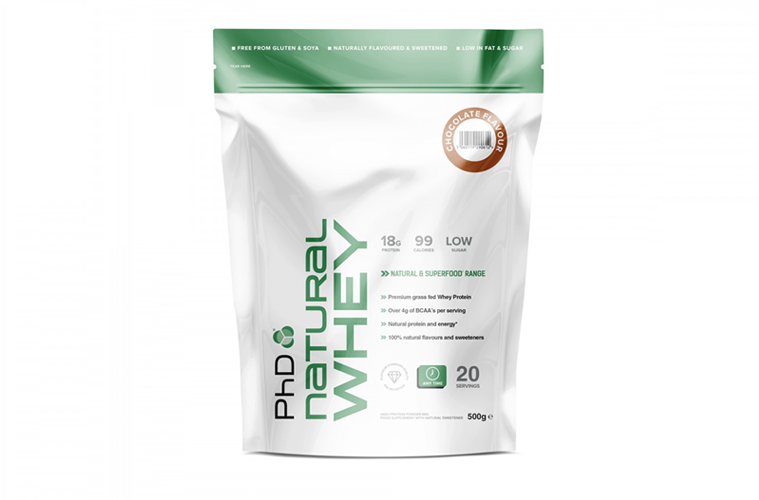 PhD Natural Whey Test