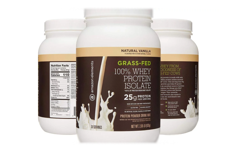 AMAZON ELEMENTS WHEY PROTEIN ISOLATE TEST REVIEW
