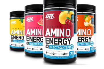 OPTIMUM NUTRITION AMINO ENERGY ELECTROLYTES TEST